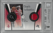 TRACY McGRADY / Clearly Authentics - No. CATM  (#d 1/75)