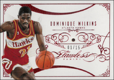 DOMINIQUE WILKINS / Ruby - No. 70  (#d 1/15)