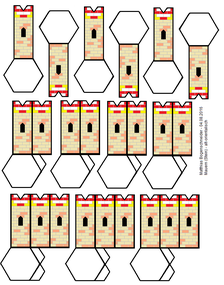 "Mauern - Modell ""Persepolis"""