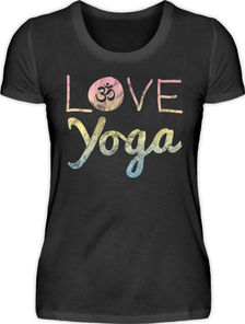 T-Shirt Love Yoga 24,95 EUR