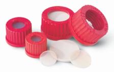 Caps for Duran type glass borosilicate sample bottles GL32 and GL45