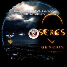 Seres genesis Cover DVD
