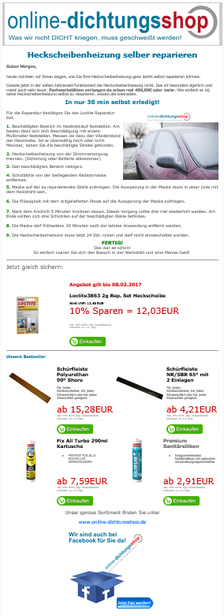 Beispiel Newsletter Marketing Muster
