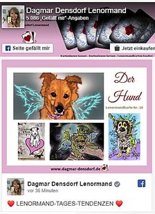 Fb-Seite Dagmar Densdorf Lenormand