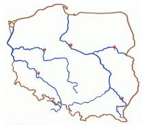najważniejsze polskie rzeki - gra Asi Apanasewicz