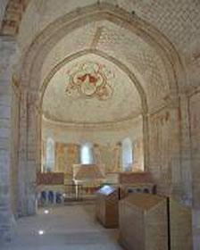 fresques de la chapelle hospitalière de Plaincourault