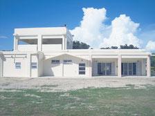 Wi―Fiアクセスポイントが屋外と屋内に計2台整備される新城島防災施設