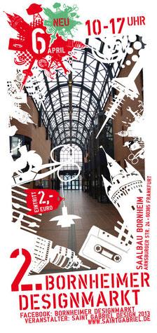 Flyer - 2. Bornheimer Designmarkt