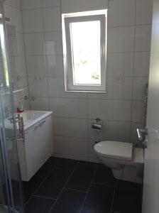 Einblick in das moderne Badezimmer