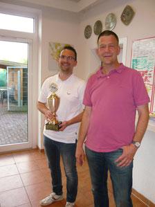 Sportler des Jahres Andreas Wente (links)
