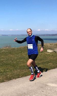 Wolgang Theisinger - Balaton Supermarathon - super Zeit