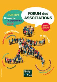 Forum des associations Pontivy escrime dimanche 4 septembre 2016 10h00 à 18h00
