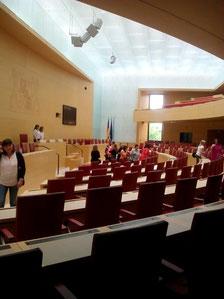 Der Plenarsaal des Bayerischen Landtags Foto: SPD