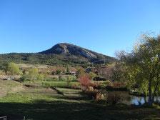 La montagne du Tarsimoure qui surplombe le Diois