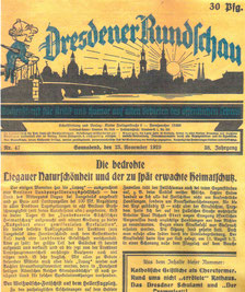 LAPAG - Landesparzellierungs-AG Berlin in Liegau - Dresdner Rundschau vom 23.11.1929
