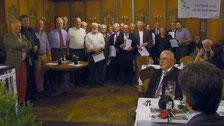Es war eine besondere Freude, eine große Anzahl von Mitgliedern zu ehren, die nunmehr seit 25 Jahren dem ÖJV Bayern die Treue halten.