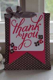 Thank you - eine Kleinigkeit hübsch verpackt - Patricia Stich 2015