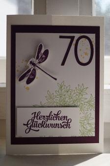 Zum 70ten Geburtstag - Patricia Stich