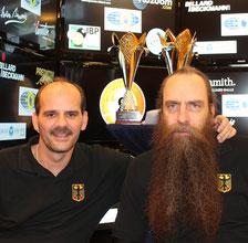 Tai und Jo, das Team Germany.