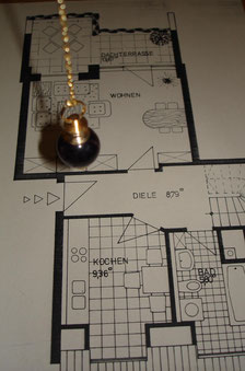 Wohnraum-Harmonisierung mit Pendel