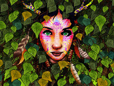 the beauty Fantasy Puzzle
