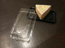 Surprise cupcake regenboogtaart voor een klein cadeautje
