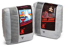 Retro Video Game Cartridge Pillow Set レトロゲームカセットクッションセット