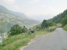 Fahrradtour von Dorf Tirol nach Riffian/Vernuer