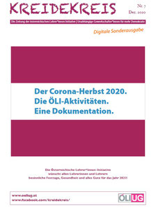 Der neue KREIDEKREIS Nr. 7 Dezember 2020. Digitale Sonderausgaben