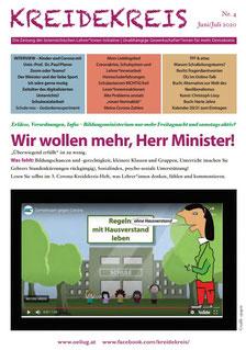 Der neue KREIDEKREIS e-paper Nr. 4 Juni 2020  Cartoon:spagra