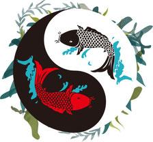poissons yin yang