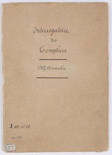 Cahier de papier. 26,5x 19 cm. Ecriture cursive.