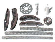 Kit completo de sustitución del conjunto de cadena de distribución de un motor N47.