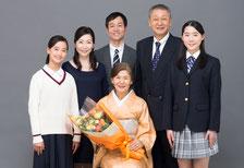 家族集合撮影のご紹介