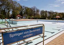 Im Waldbad Sehnde soll beim 24-Stunden-Schwimmen der KGS Sehnde das pralle Leben toben. (Köhler/Brunhöber)