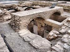 Les ruines romaines de Navarre