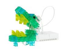 ロボットプログラミング授業例の「ワニ」の画像
