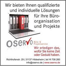 ~ Bild: OSERVO - Büro- & Projektservice ☺ ~