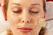 Peeling viso professionale