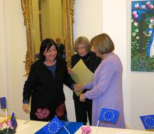 Verleihung des Europapreises