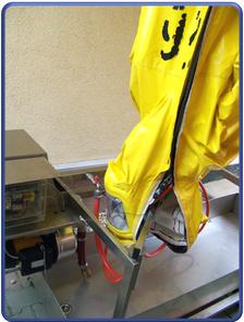 CSA Wasch-, Desinfizier- und Trocknungsanlage