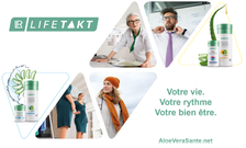 LR LIFETAKT regroupe tous les produits Santé LR avec un concept révolutionnaire : « Le rythme de votre vie ».