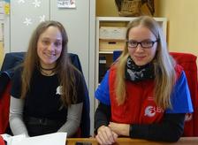 Shannon Dahedl und Bianca Stolcz, Foto: Sabine Michael (LBV)
