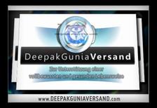 Deepak Gunia Versand