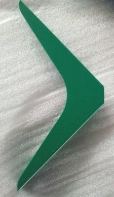 équerre pour étagère coloris vert menthe