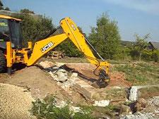 Демонтаж старых фундаментов