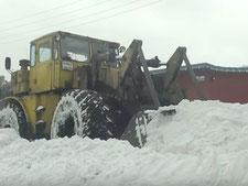 Уборка снега в спб и области