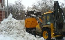 убираем снег в санкт-петербурге