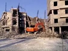 Аренда спецтехники для демонтажа зданий в спб и области