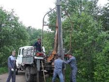 Установка опор ЛЭП в спб и области